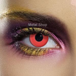 set kontaktní čočka RED CONTACT a desinfekční sada - EDIT - 80061