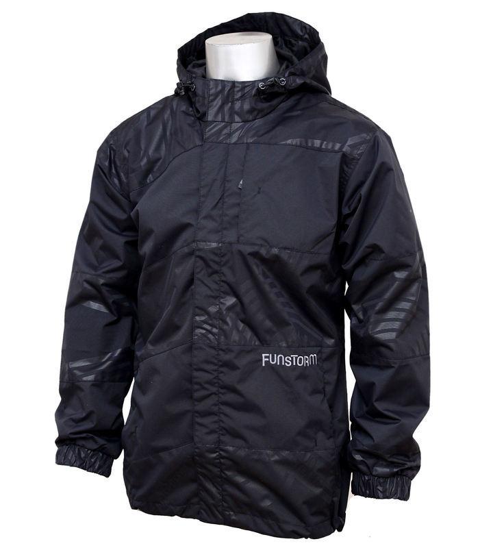 bunda pánská jarně-podzimní FUNSTORM - Cleve H - 21 BLACK