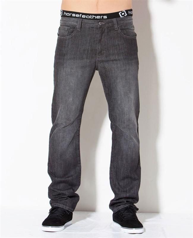 kalhoty pánské -jeansy- HORSEFEATHERS - Truck