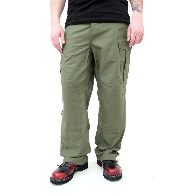 kalhoty pánské HELIKON - Nyco Twill - Olive - SP-SFU-NT-02