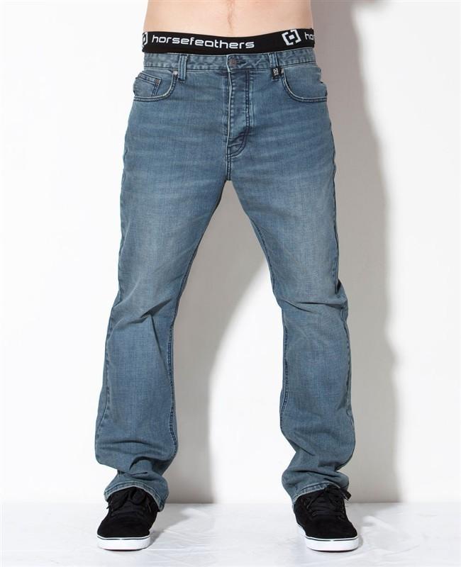 kalhoty pánské -jeansy- HORSEFEATHERS - Charter