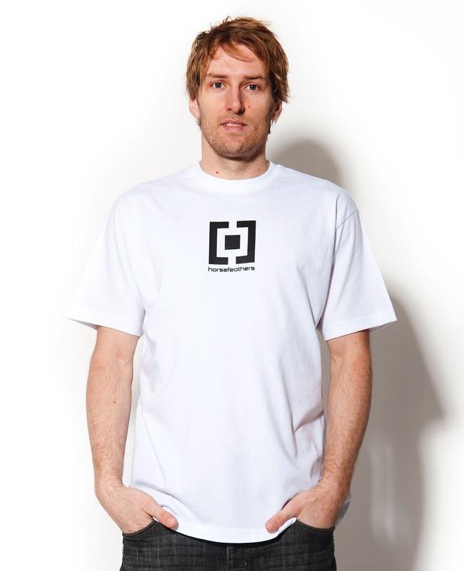 tričko pánské HORSEFEATHERS - Sentinel - WHITE