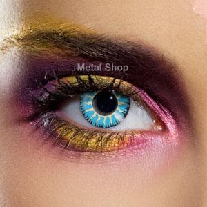 set kontaktní čočka Blue Glamour a desinfekční sada - EDIT - 82152