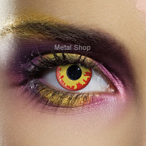 set kontaktní čočka Flame Eyes a desinfekční sada - EDIT - 80121