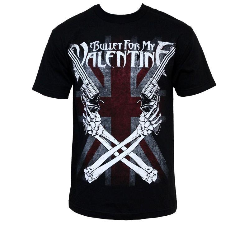 tričko pánské Bullet For My Valentine - Cross Guns - BRAVADO - BFV1109
