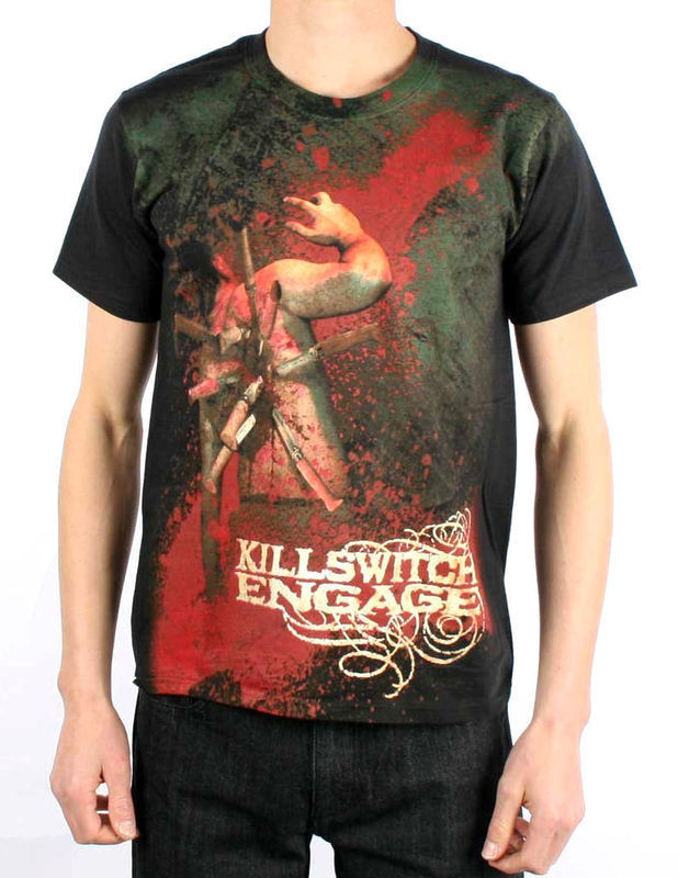 Tričko metal BRAVADO Killswitch Engage Backstabber černá S