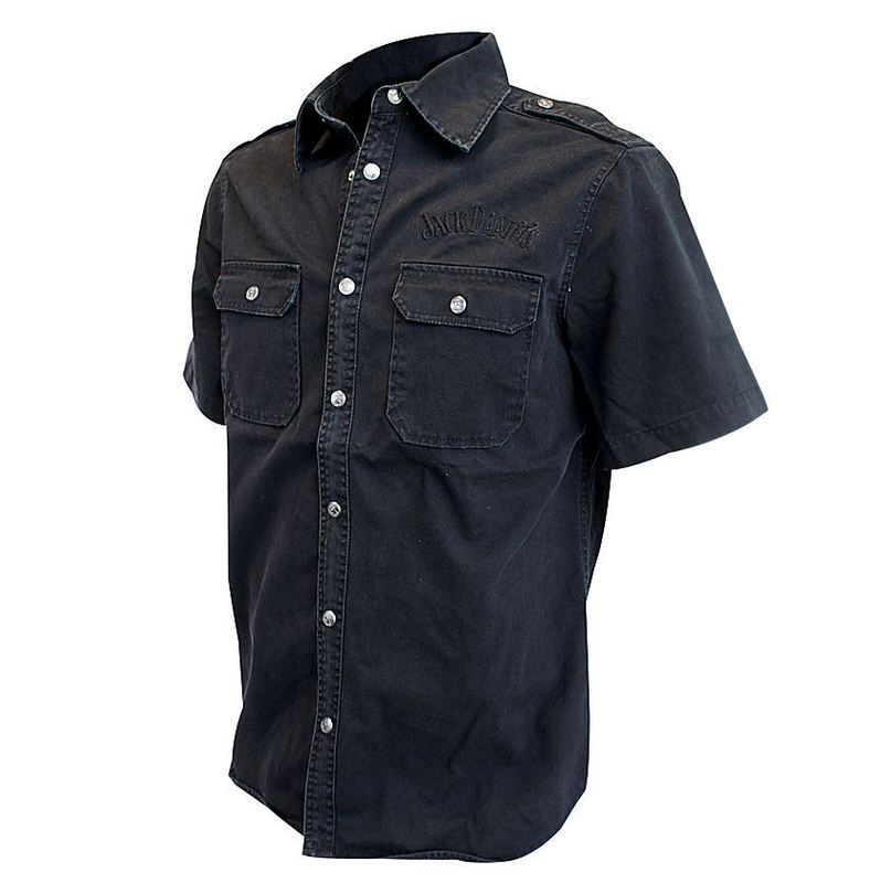 košile pánská Jack Daniels - TS623012JDS