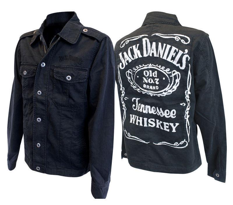 bunda pánská jarně-podzimní Jack Daniels - JK623005JDS