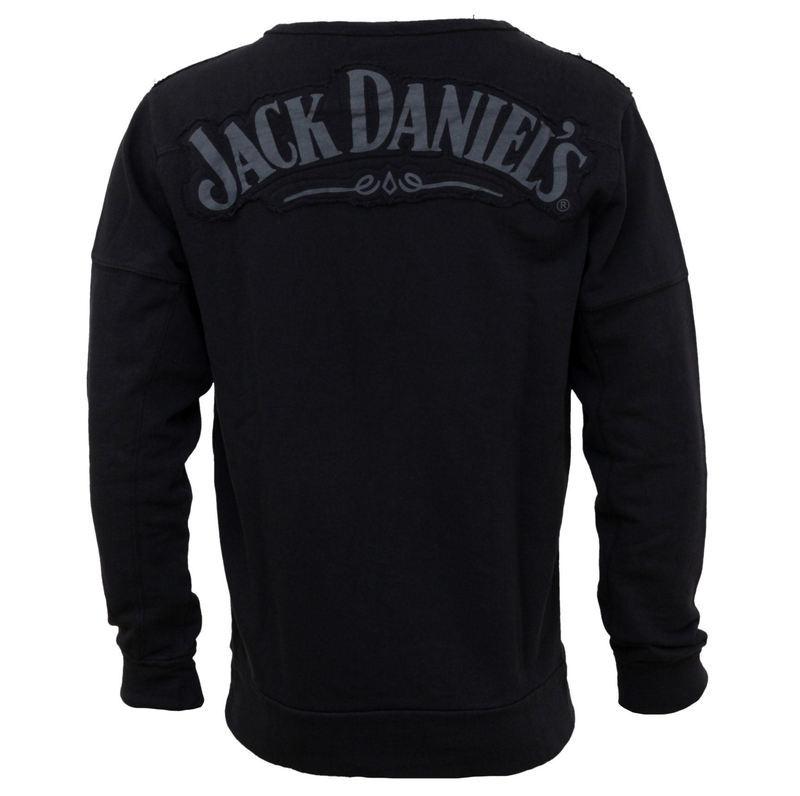 c9a30007a07 tričko pánské s dlouhým rukávem Jack Daniels - Black - SW298218JDS ...