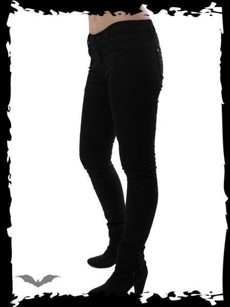kalhoty dámské QUEEN OF DARKNESS - Skinny Fit - TR1-226/11
