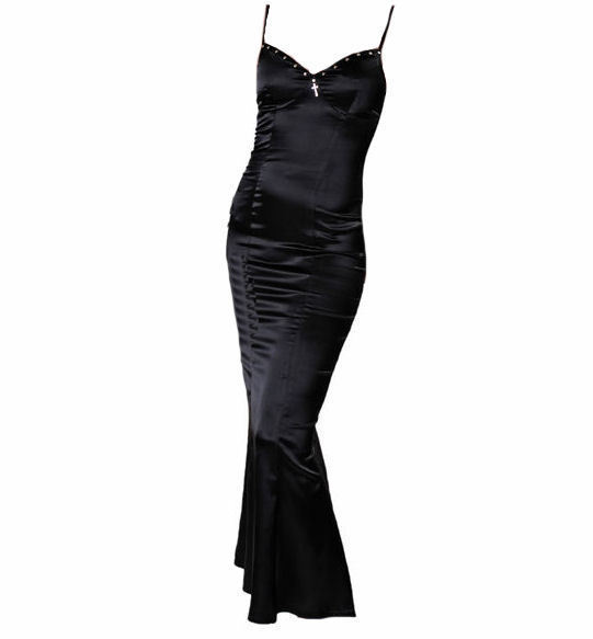 šaty dámské QUEEN OF DARKNESS -DR1-112/08