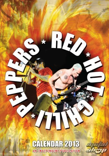 kalendář na rok 2013 - Red Hot Chilli Peppers - DRM-022
