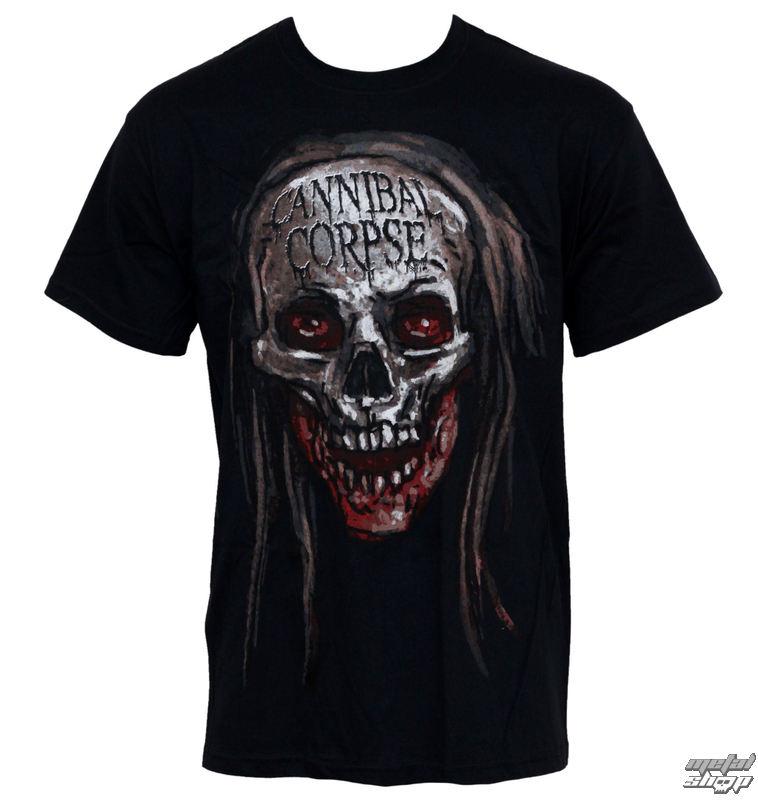 tričko pánské Cannibal Corpse - Skull - PLASTIC HEAD - PH7110