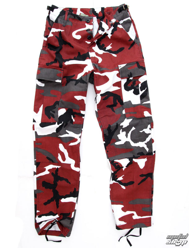 kalhoty pánské US BDU - Army - Red Camo - 200500_RED-CAMO
