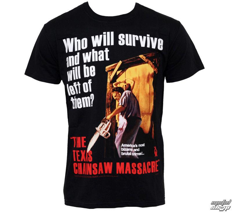tričko pánské Texas Chainswas Massacre - Bizarre - PLASTIC HEAD- PH7230