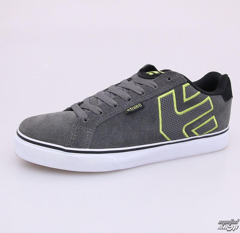 boty pánské ETNIES - Fader Vulc 376 - Grey/Lime/White