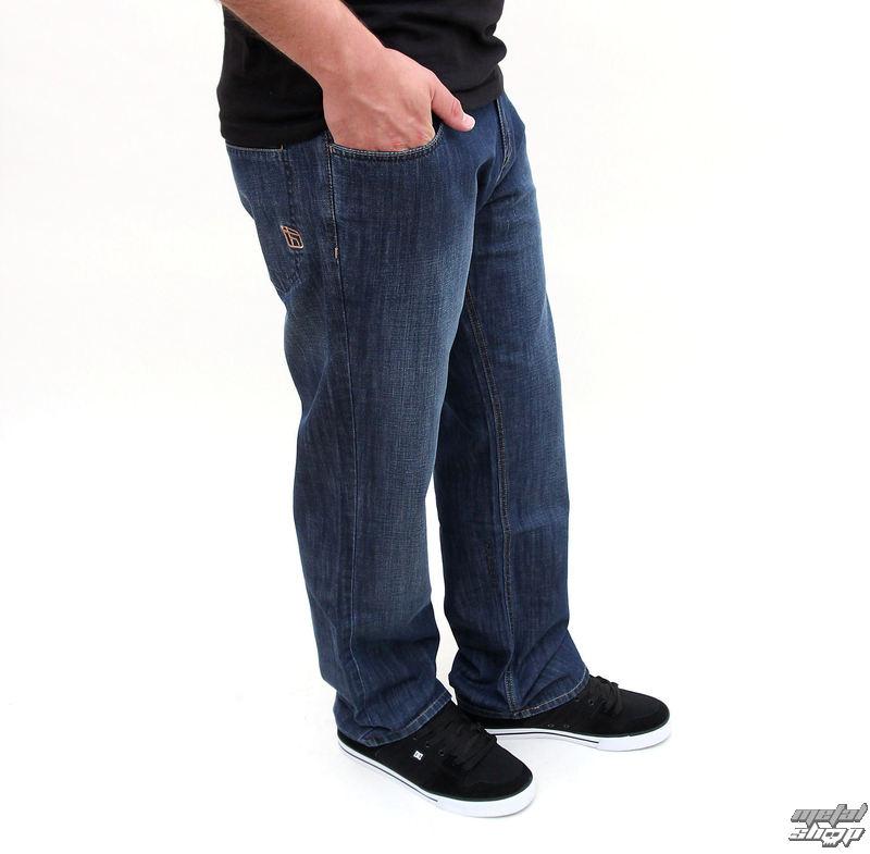 kalhoty pánské FUNSTORM - Picton - 92 tmavá indigo used