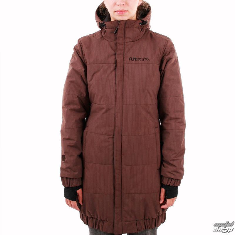 bunda -kabátek- dámská zimní FUNSTORM - Dease - 04 BROWN