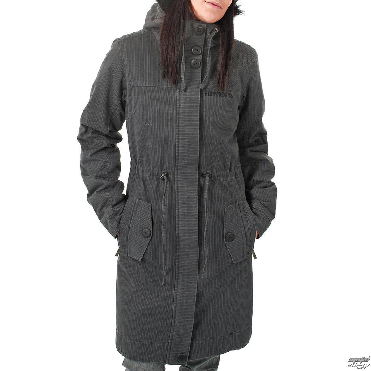 bunda -kabátek- dámská zimní FUNSTORM - Ledoy - 20 D GREY