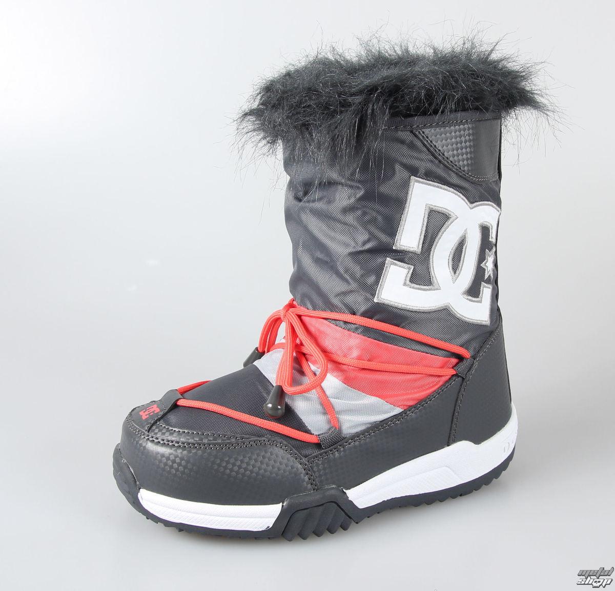 boty dámské -zimní- DC - Lodge - DARK SHADOW-ARMOR