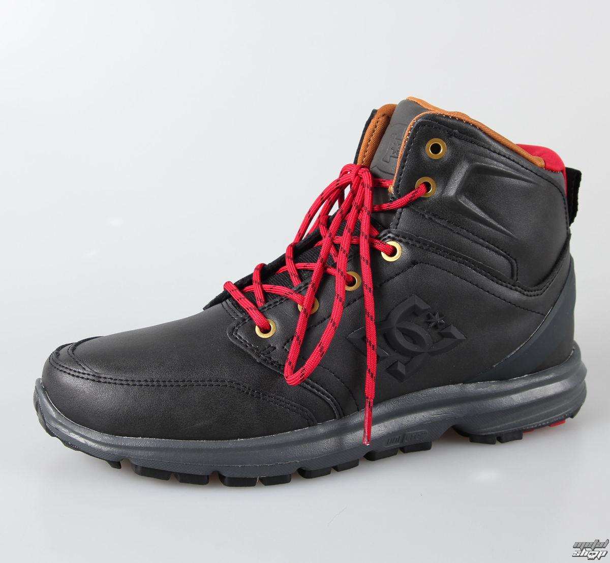 boty pánské -zimní- DC - Ranger Se - BLACK-TRUE RED