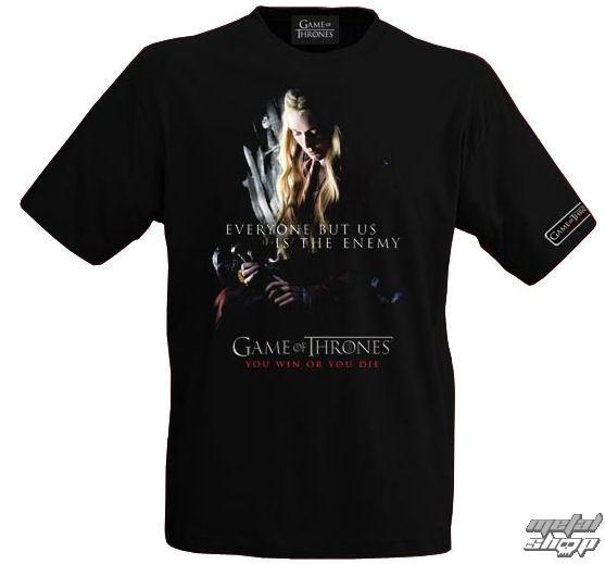 tričko pánské Hra o trůny - Cersei Lannister - E1020983