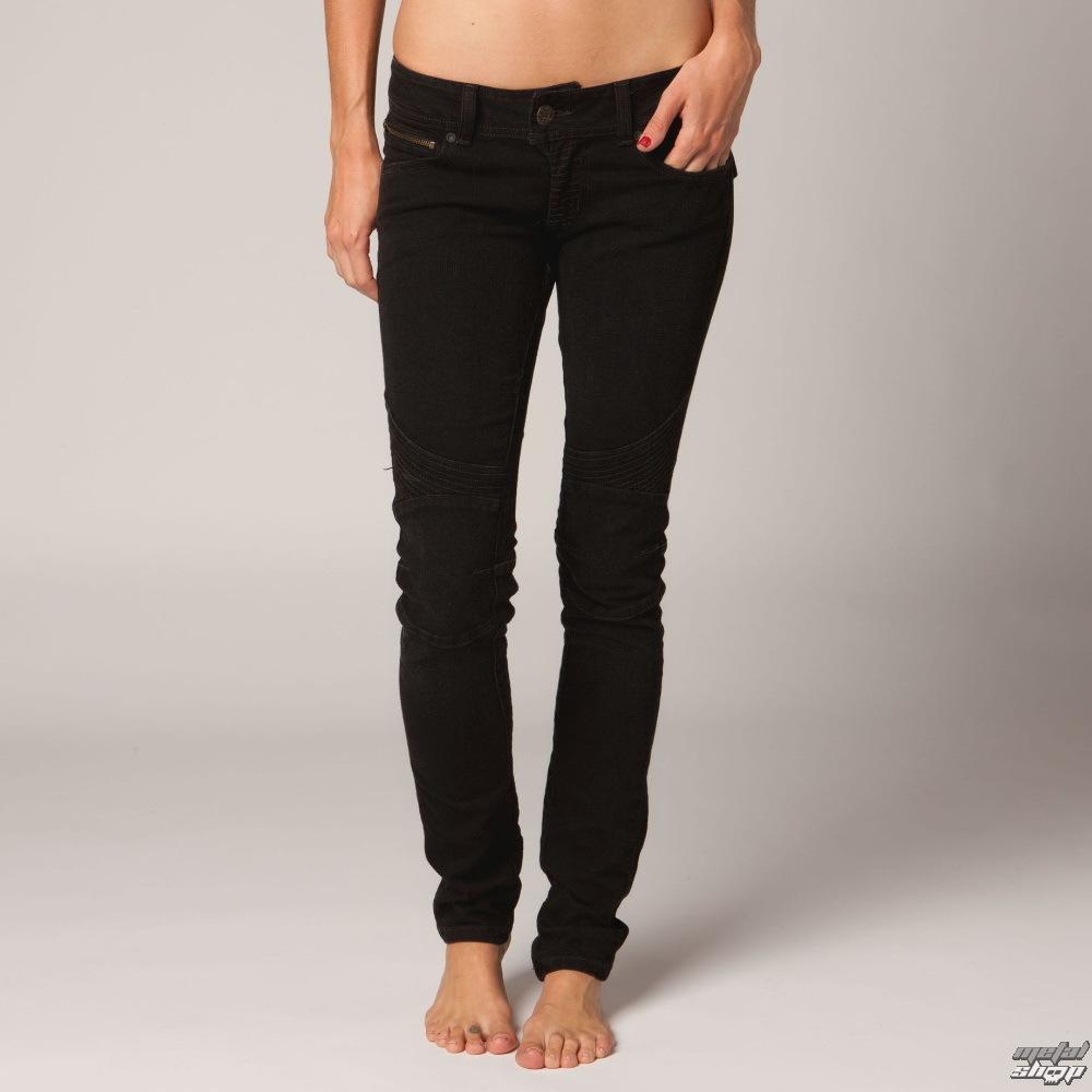 kalhoty dámské FOX - Moto Doll Skinny - Black Vintage