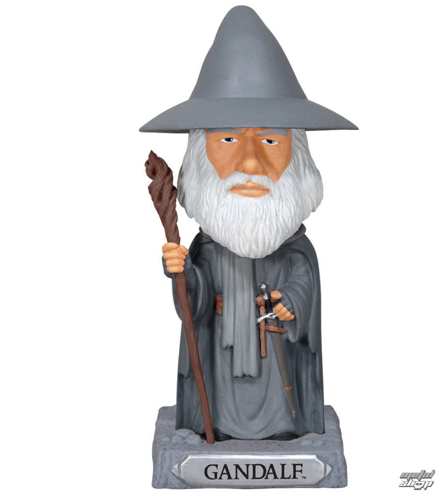 figurka filmová NNM Hobit Head Knocker Gandalf