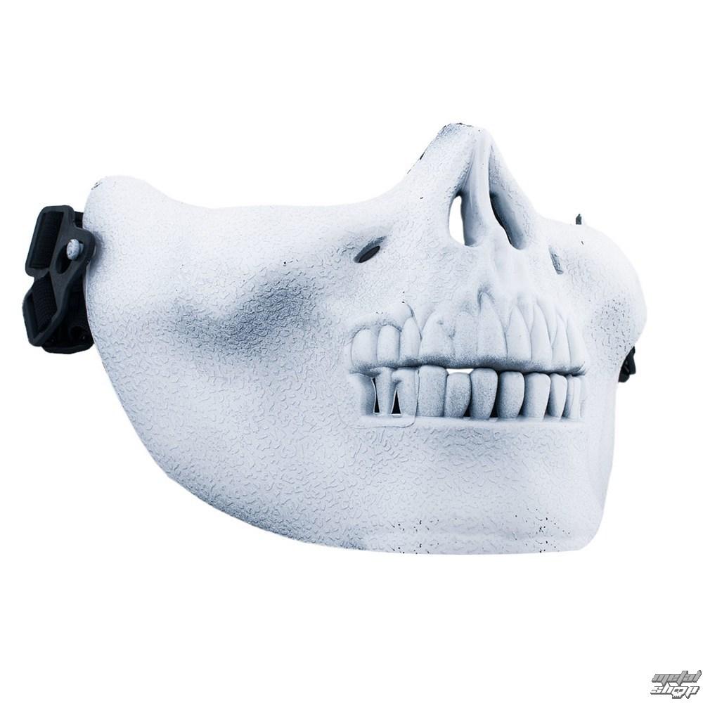 maska POIZEN INDUSTRIES - Skull Mask - White - POI166