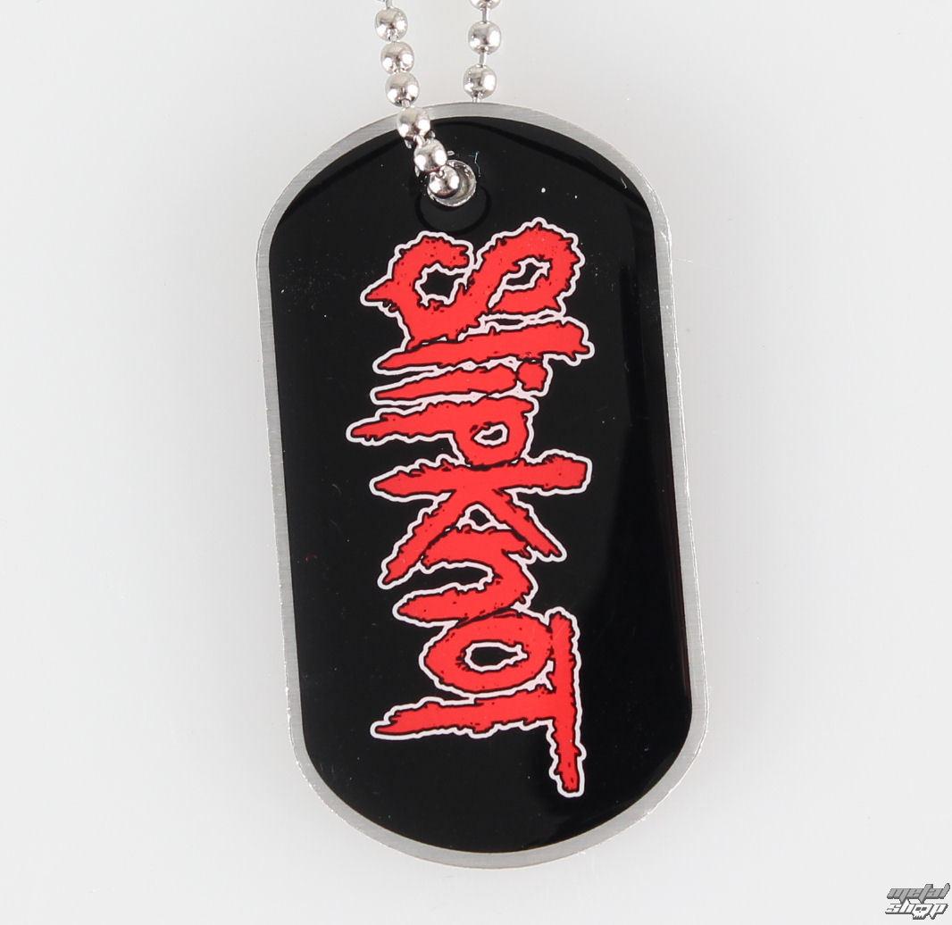 obojek (psí známka) Slipknot - Logo - RAZAMATAZ - DT046