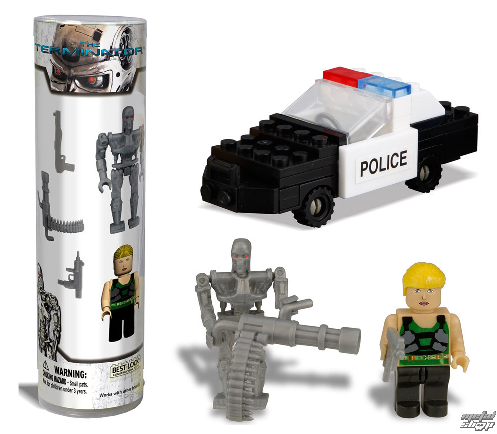 figurky Terminator - Best-Lock Construction Set T-800 & Sarah Connor - BL01020T