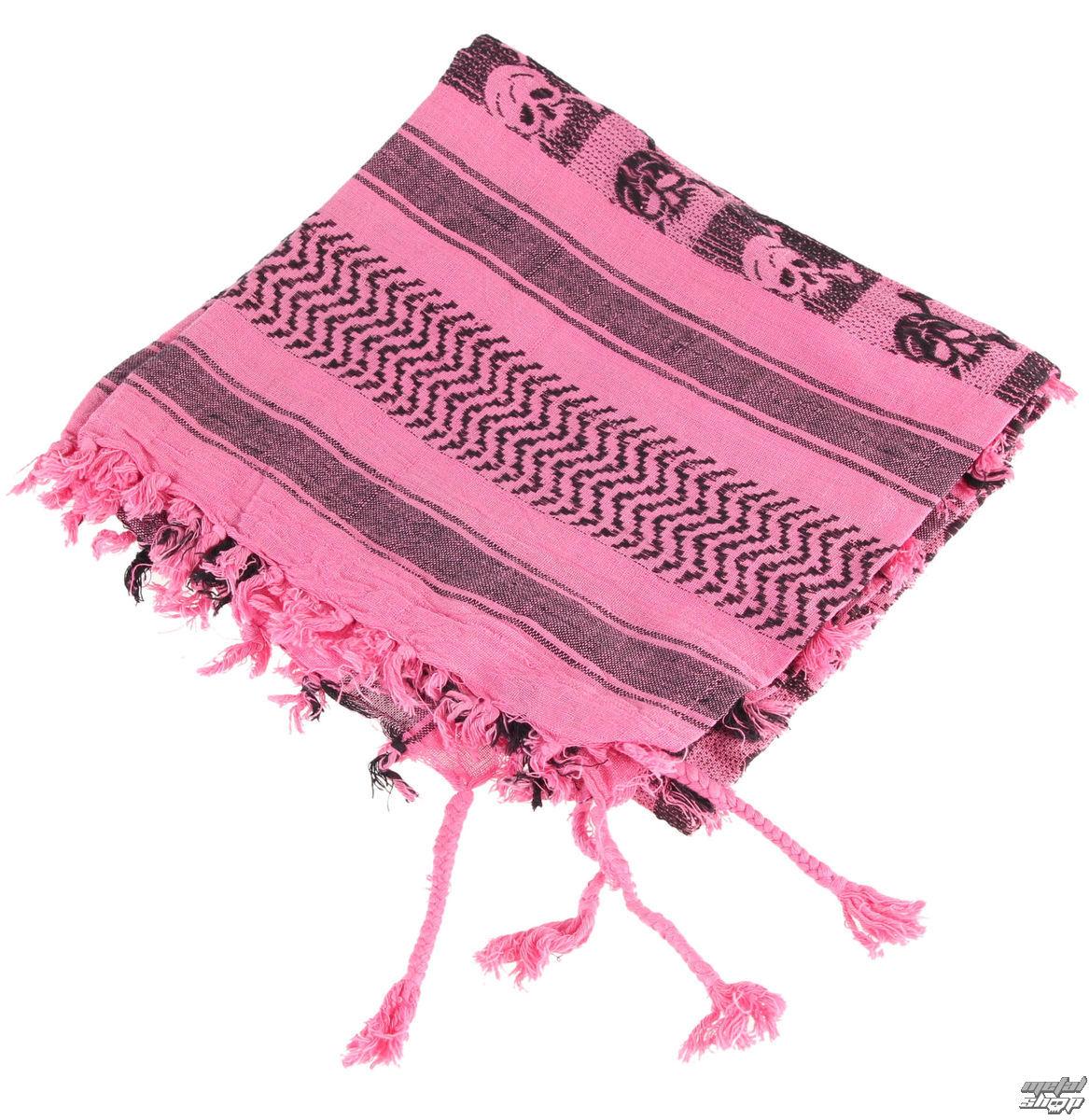 šátek ARAFAT - palestina - lebka 29 - růžová - metalshop.cz 38524e1bf4