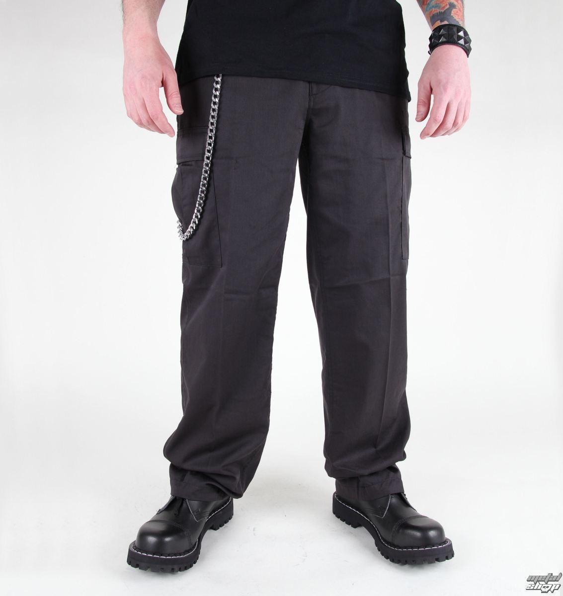 kalhoty pánské MIL-TEC - US Ranger Hose - BDU Black - 11810002