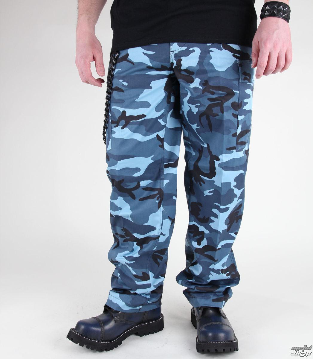 kalhoty pánské MIL-TEC - US Ranger Hose - BDU Skyblue - 11810023