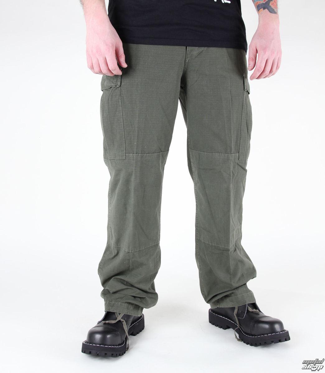 kalhoty pánské MIL-TEC - US Feldhose - CO Prewash Oliv - 11821001