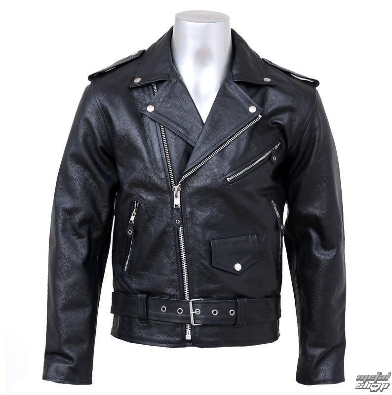 bunda , křivák NEW ROCK - Black Cow Leather - W.Jack2013