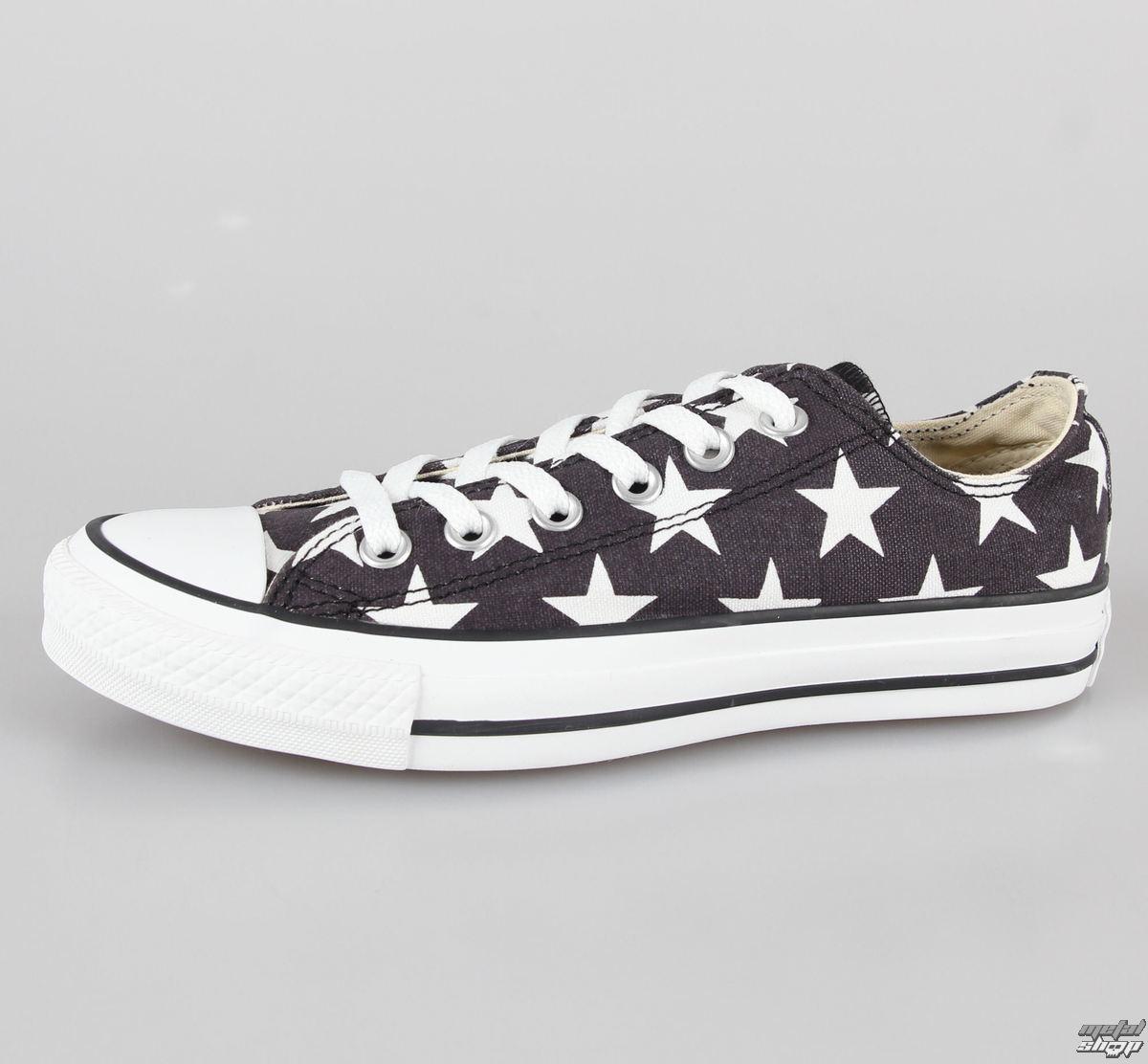 boty dámské CONVERSE - Chuck Taylor All Star - CT OX Black/White - C136613