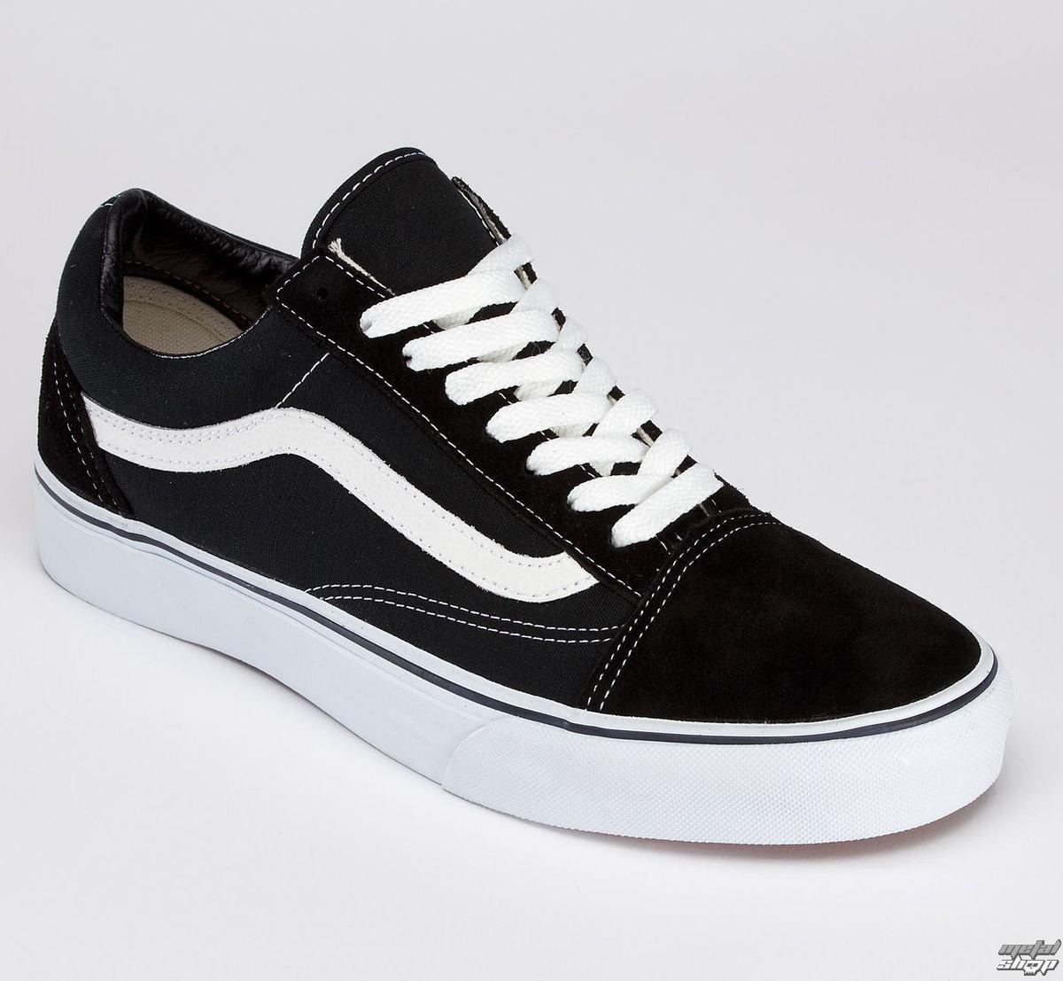 boty VANS - Old Skool - Black/White - VD3HY28