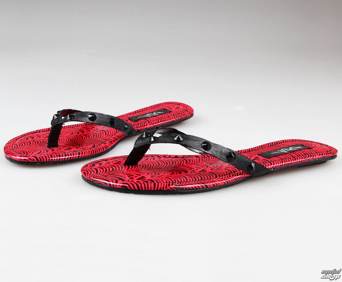 boty dámské IRON FIST - Island Vibe Flat Sandal - CORAL