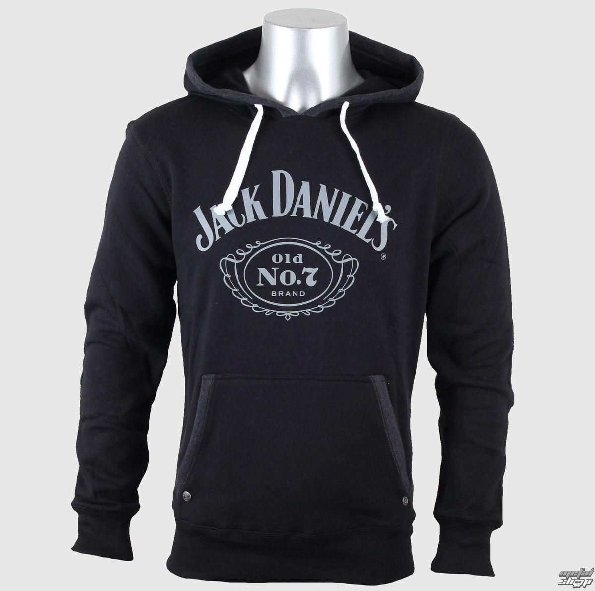 mikina pánská Jack Daniels - Old No. 7 - Black - HD030080JDS