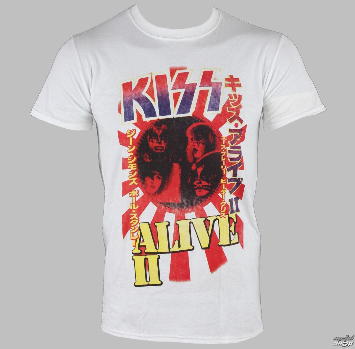 tričko pánské Kiss - Alive II - LIVE NATION - RTKISS40300