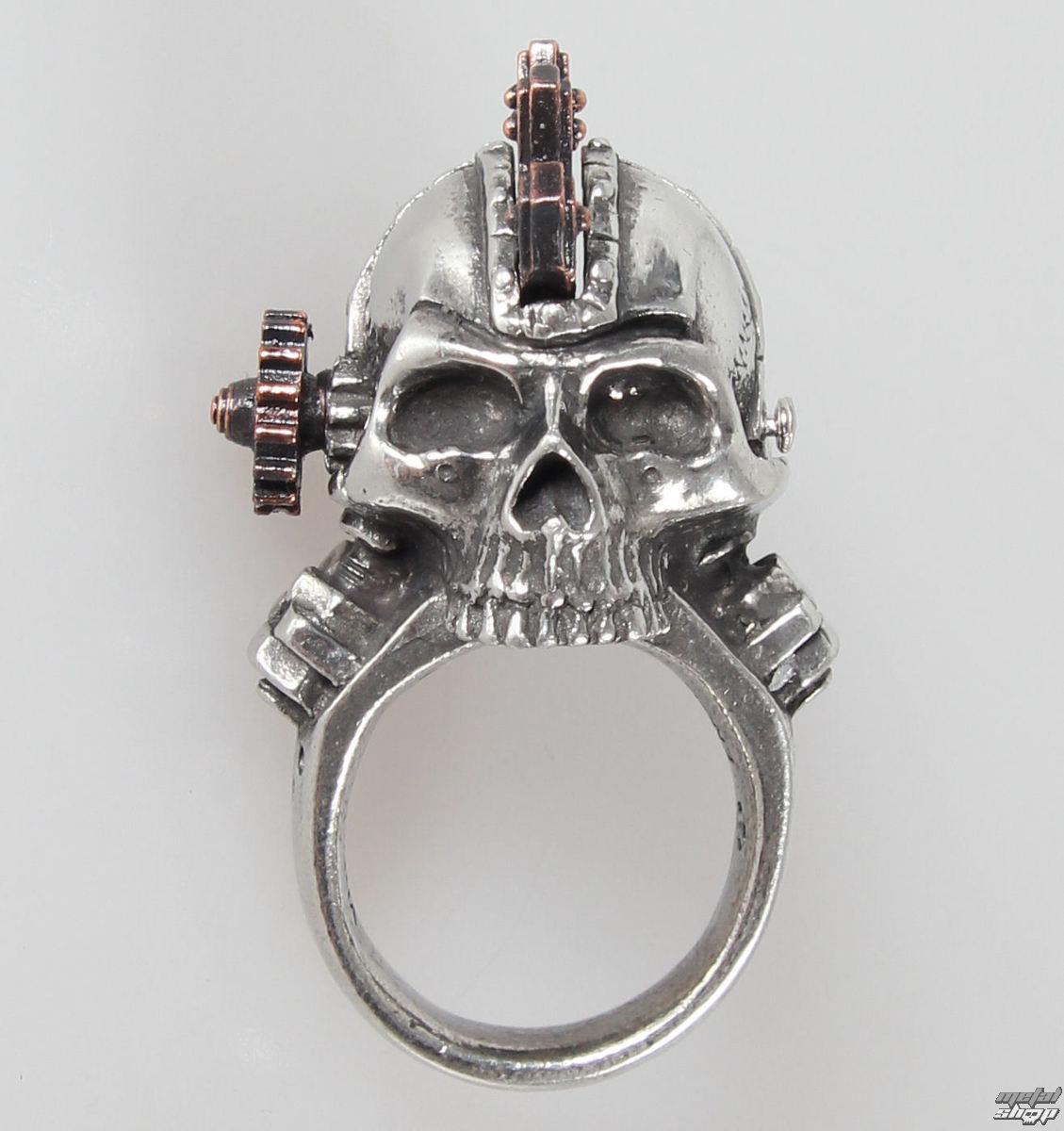 Levně prsten Steamhead - Alchemy Gothic - R186 Q
