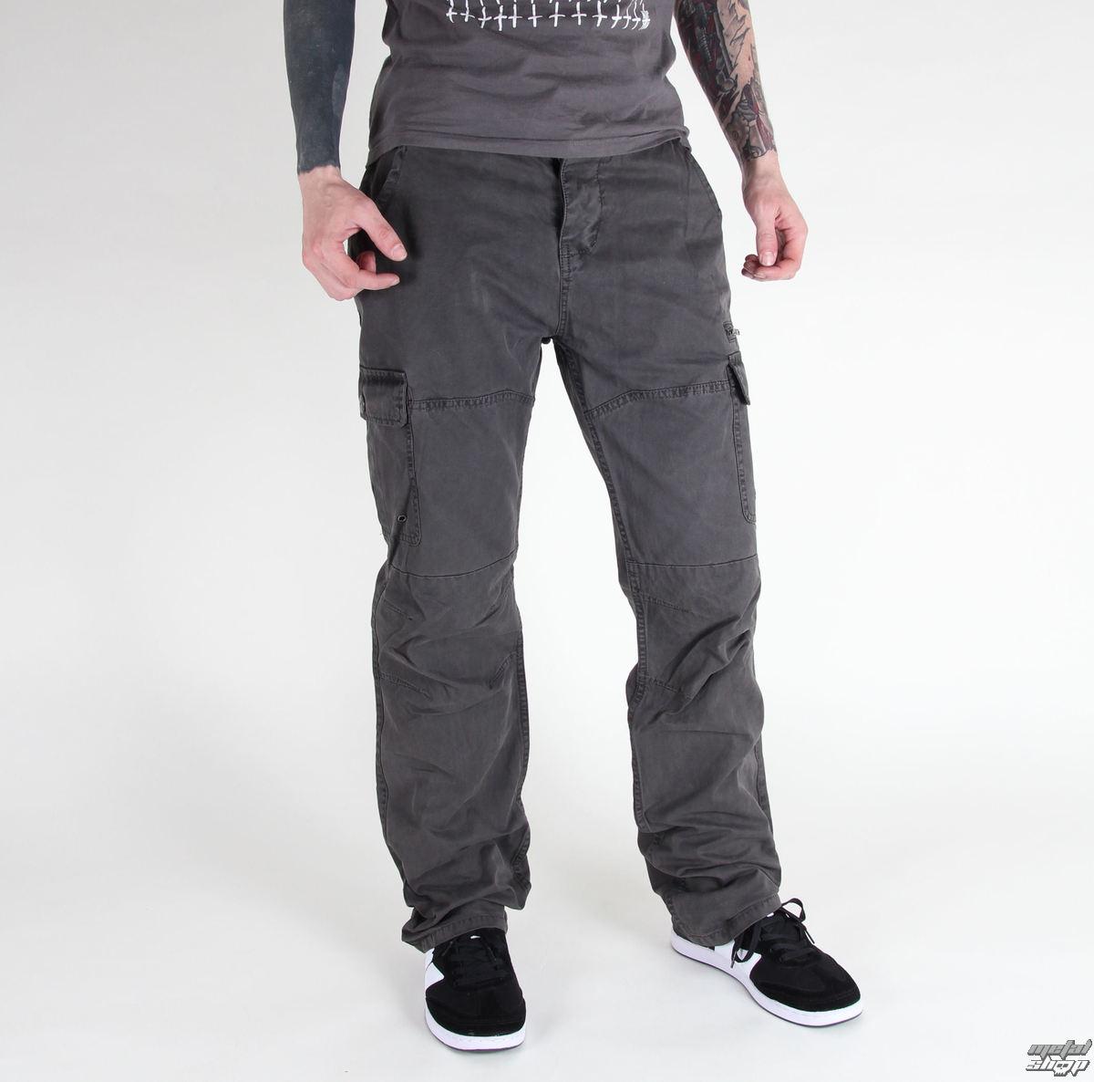 kalhoty pánské BRANDIT - Rocky Star Light Black - 1008/2