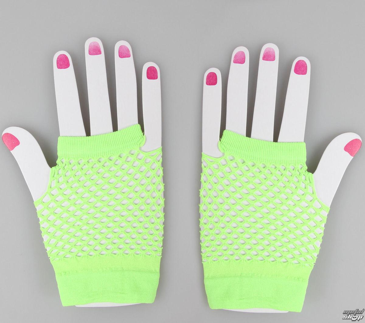 rukavice bezprsté POIZEN INDUSTRIES - NSD Fishnet - N.Green