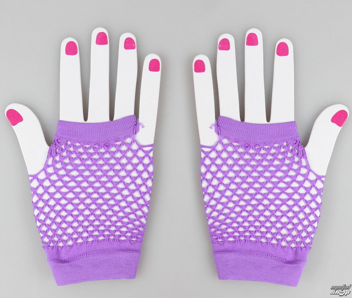rukavice bezprsté POIZEN INDUSTRIES - NSD Fishnet - Purple