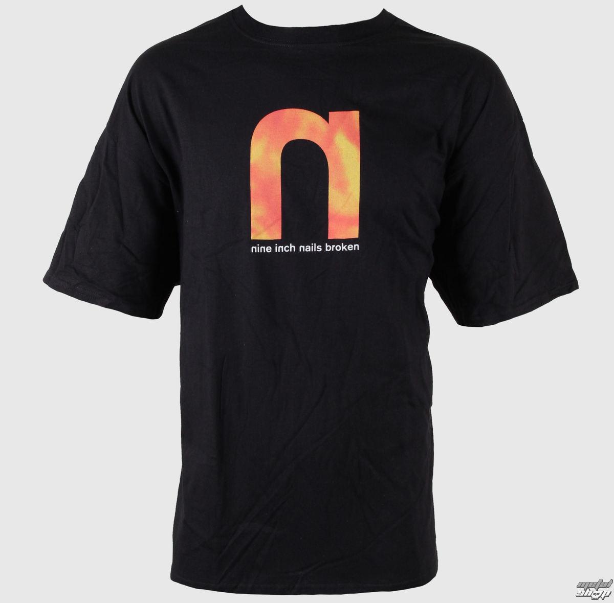 tričko pánské Nine Inch Nails - Broken Backwards - BRAVADO - NIN1016