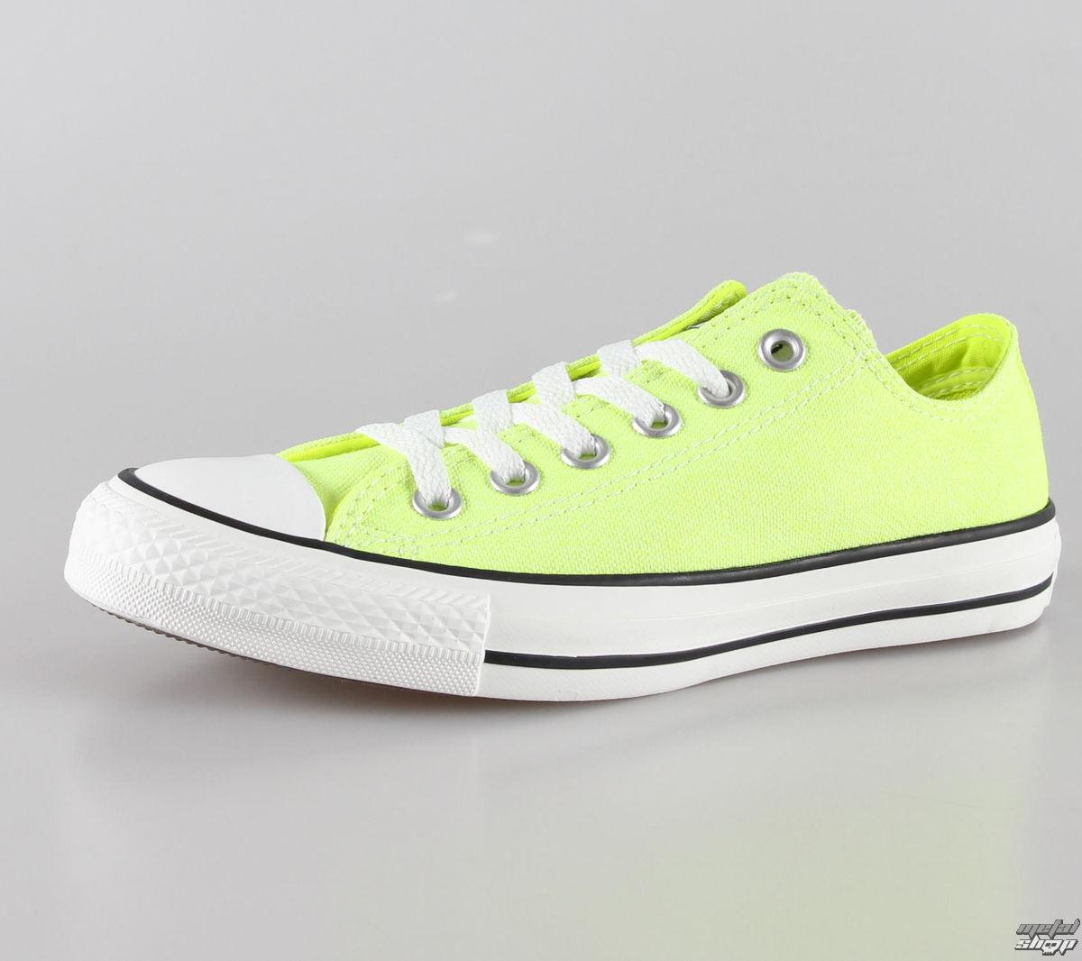 boty dámské CONVERSE - Chuck Taylor All Star OX - NEON - Neon Yellow - C136585