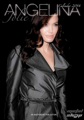 kalendář na rok 2014 Angelina Jolie