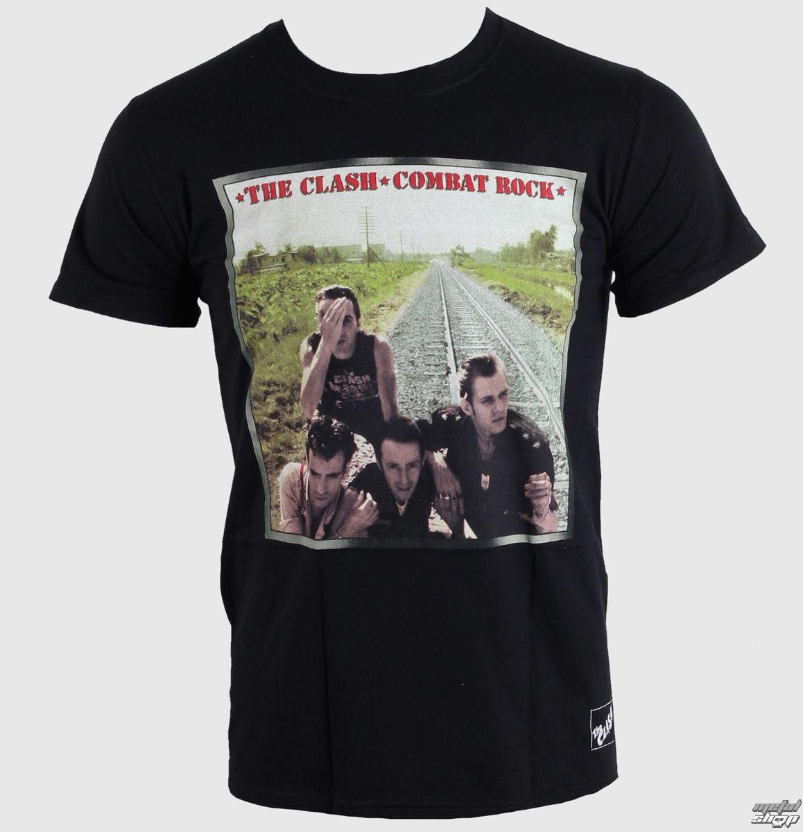 tričko pánské The Clash - Combat Rock - LIVE NATION - 014906