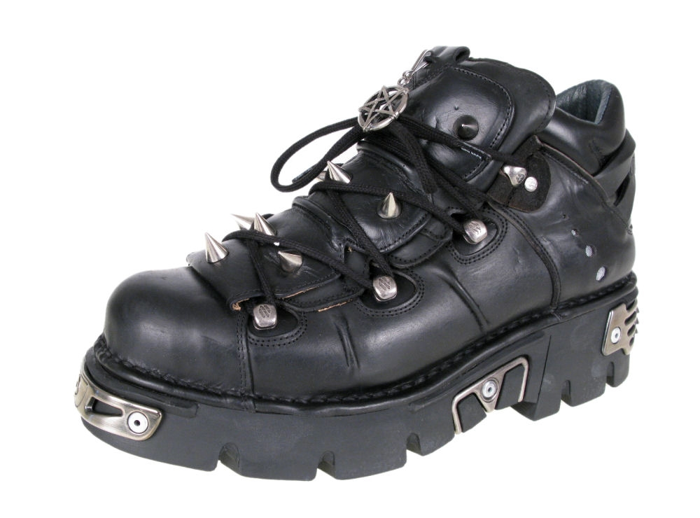 boty NEW ROCK - Prick Shoes (110-S1) Black - N-8-50-700-00